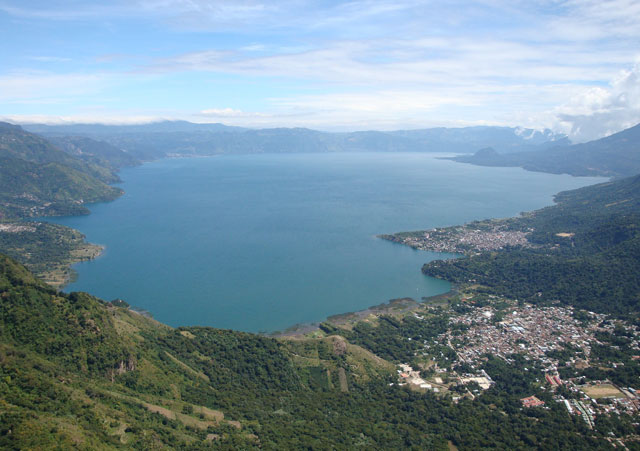Paragliding of Lake Atitlan